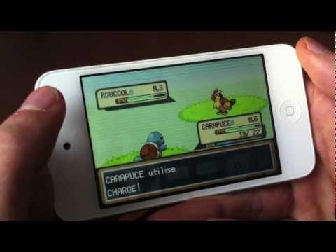 Jouer aux jeux GBA (pokémon) sur iOS 8 et iOS 7 (iPhone / iPod Touch / iPad) avec gpsPhone