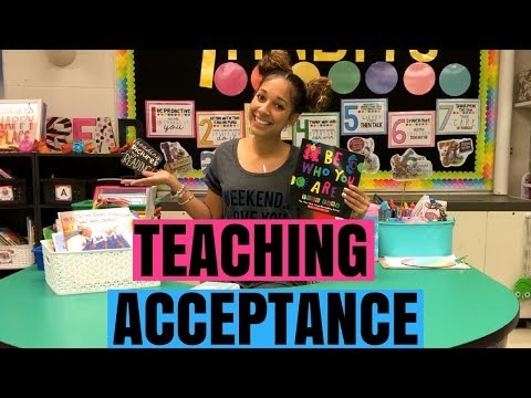 Teaching Acceptance | 3 tips for teaching your students how to be accepting