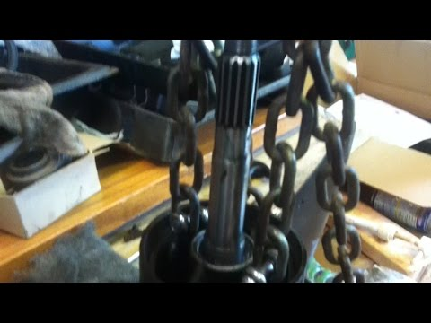 How to remove an outboard bearing carrier