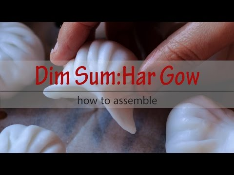 How to Assemble Har Gow 虾饺
