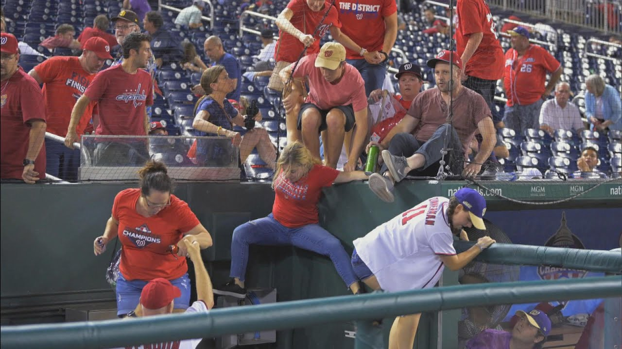 Fans Scramble to Safety as Gunshots Ring Out by Ballpark