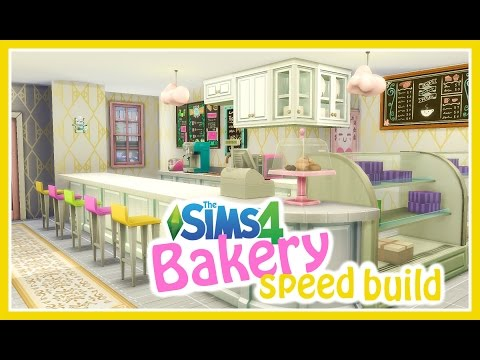 Bakery with Second Floor Apartment | Sims 4 Speed Build | Giggle Sims | Get to Work Expansion Pack
