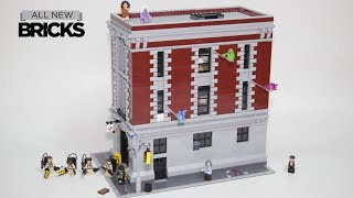 Lego Ghostbusters 75827 Firehouse Headquarters Speed Build Special for 150,000 Subscribers