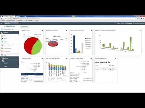 FleetLocate user interface overview