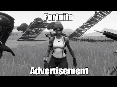 A Fortnite Advertisement