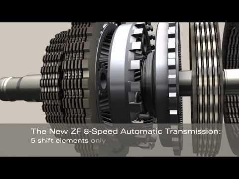 Ram ZF 8 Speed Automatic Transmission TorqueFlite 8 ZF 8HP70