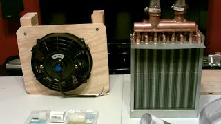 DIY Air Cooler! - Chilled Water AC Air Cooler! - Radiant Cooling with water! - Easy DIY
