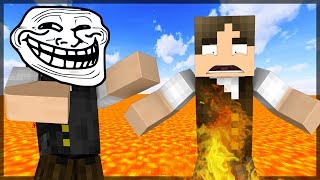 Minecraft: O CHÃO É LAVA TROLL DO REVERSE JAZZ!