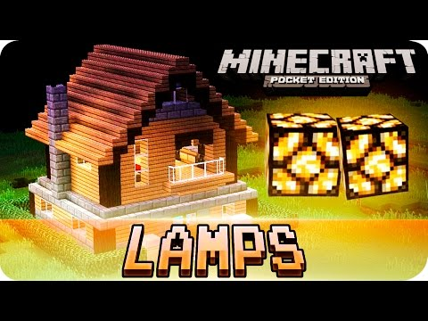 Minecraft PE - Floor Lighting Using Redstone Tutorial! MCPE