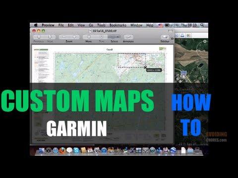 How to Create a Garmin Custom Map