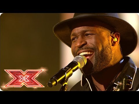 Kevin Davy White performs Jimi Hendrix gold! | Live Shows | The X Factor 2017
