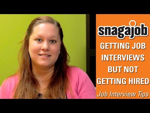 Job Interview Tips (Part 17): Getting Job Interviews But Not Getting Hired