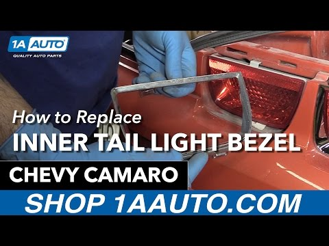 How to Replace Install Inner Tail Light Bezel 10-13 Chevy Camaro Buy Auto Parts at 1AAuto.com