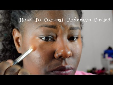 How To Conceal Under Eye Circles| Beautiefreak92