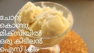 ചോറ് ഇരിപ്പുണ്ടെങ്കിൽ ഇപ്പോൾ തന്നെ ഉണ്ടാക്കി നോക്കൂ ഈ കിടിലൻ  ഐസ്ക്രീം  | Left Over Rice Ice Cream