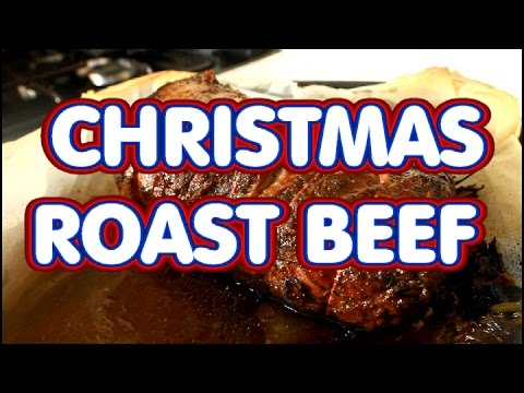 Roast Beef For Christmas Dinner Or Sunday Dinner | Recipes By Chef Ricardo