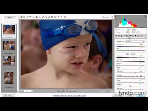 Adjusting white balance-Photoshop CS5 Tutorial