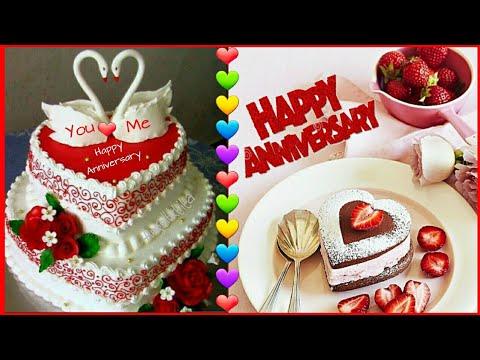 Happy Anniversary Cake Images WhatsApp Status|