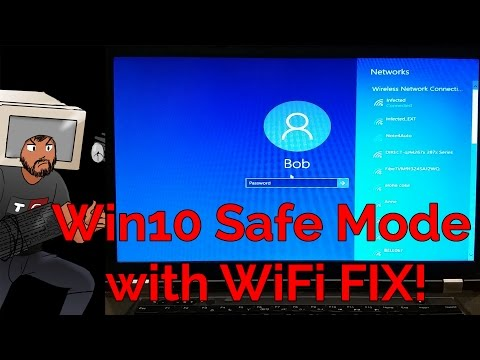 Windows 10 Safe Boot With Networking WiFi fix - QUICK TIPS