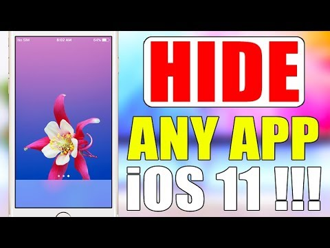 How To Hide ANY App On iOS 11 !!!