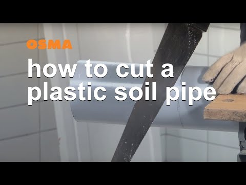 How to cut a pipe square - OSMA Soil & Waste