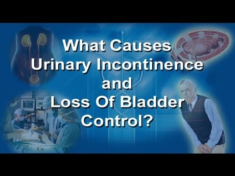 What Causes Incontinence - Bladder Control Problems In Men And Women