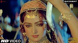 Qayamat , Lata Mangeshkar , Alibaba Aur 40 Chor , R D Burman , Hema Malini, Zeenat Aman