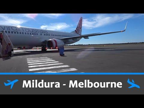 Virgin Australia 737 - Mildura to Melbourne - Economy Flight Review