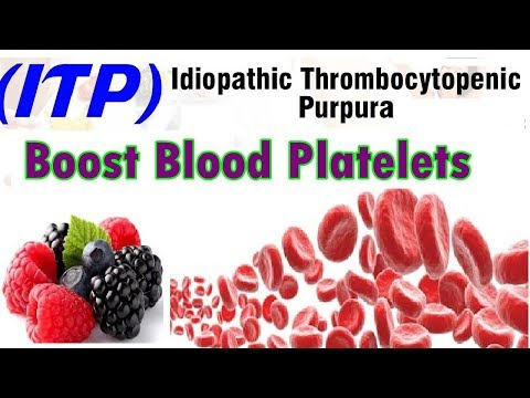 Foods Good in ITP to Boost Blood Platelets