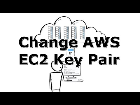 How to Change Amazon Web Services EC2 Key Pair