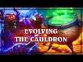 Evolving the Cauldron  ~ The Witchwood Hearthstone