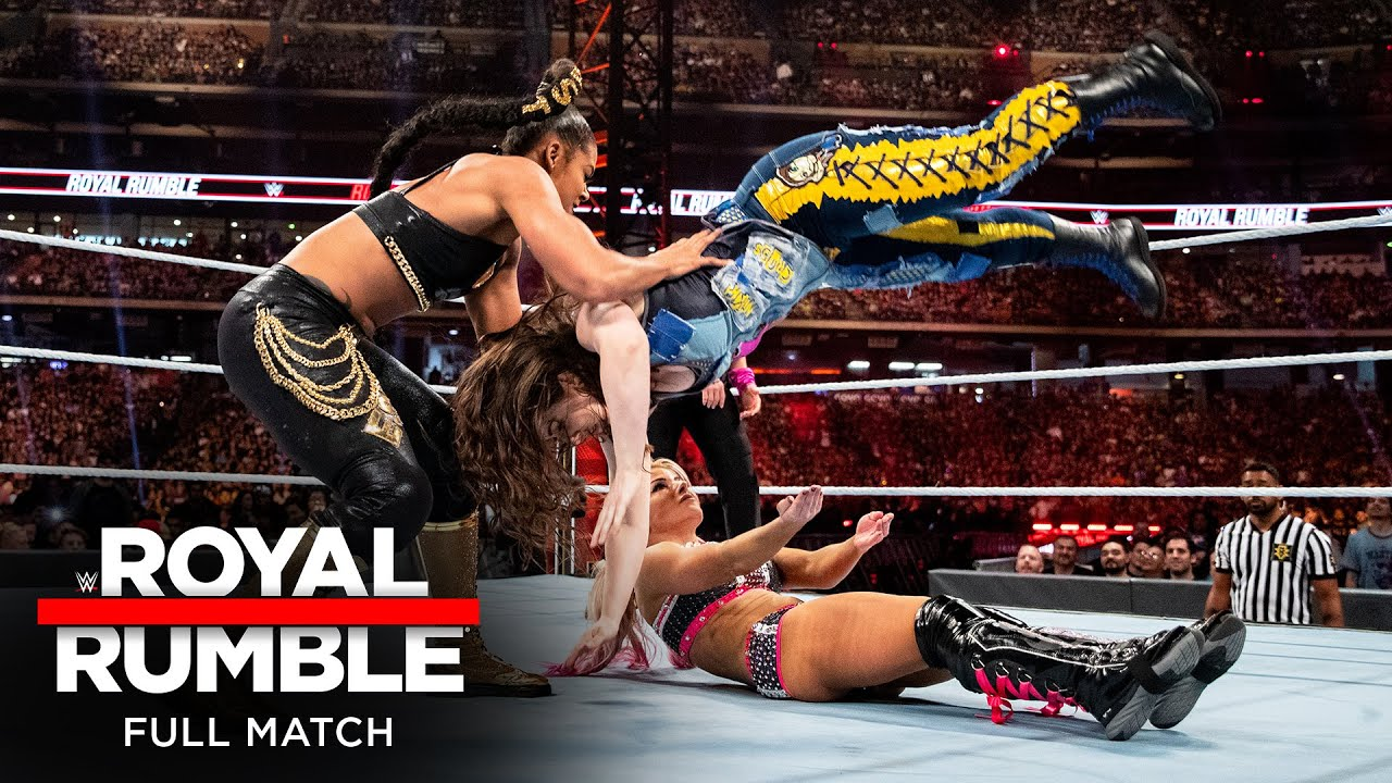 FULL MATCH - 2020 Women's Royal Rumble Match: Royal Rumble 2020