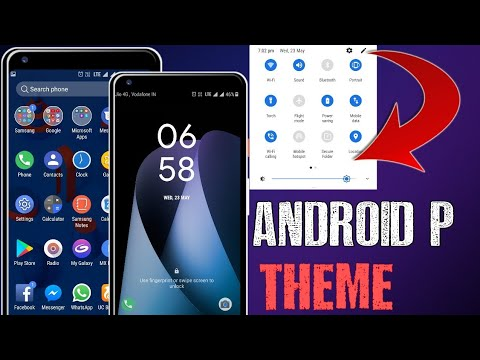 DNA Android P THEME || For Samsung Devices || (Download & Install) [Hindi Urdu]