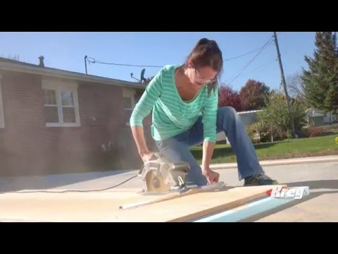 Make Perfect Cuts Without Measuring Using a Kreg® Rip-Cut™