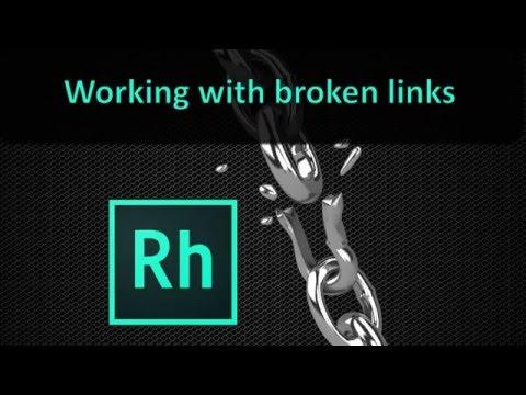 Working with Broken Links