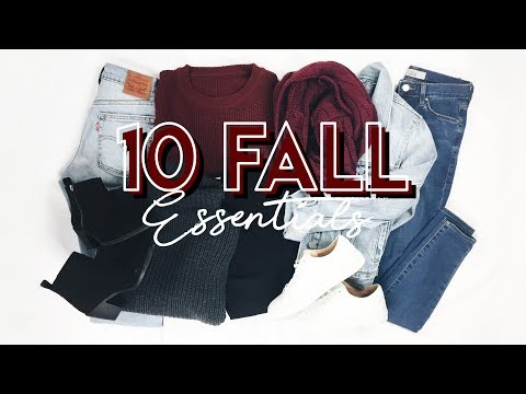 10 Fall Essentials! (TRY ON) // My Favorite Fall Clothes