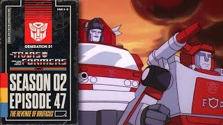The Revenge of Bruticus | Transformers: Generation 1 | Season 2 | E47 | Hasbro Pulse
