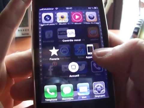Comment activer le vibreur sur un Iphone lorsque la pièce est cassée