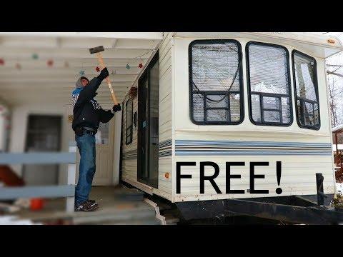 GETTING A FREE TRAILER / CAMPER