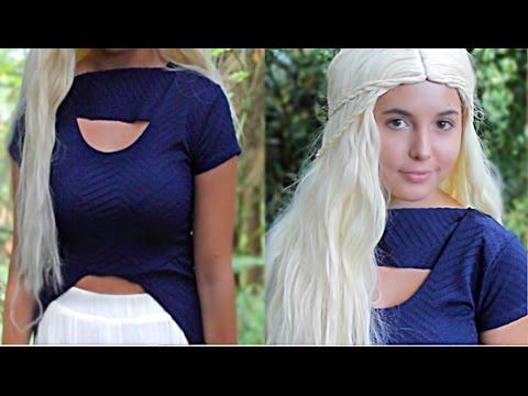 DIY Game of Thrones Costume! (NO SEWING) + Hair Look!