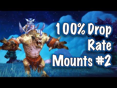 Jessiehealz - 100% Drop Rate Mounts #2 WoD (World of Warcraft)