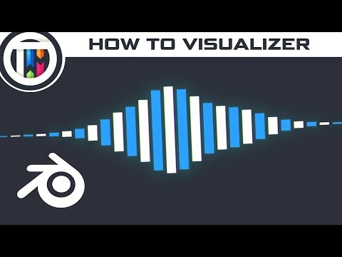 Blender Tutorial - How to make a Music Visualizer