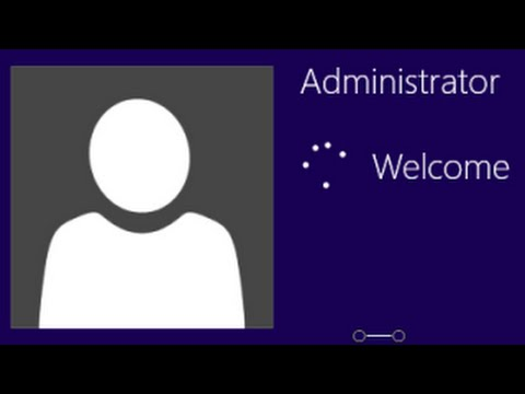 Windows 8 tutorial: How to Unlock Administrator Account and login as Admin