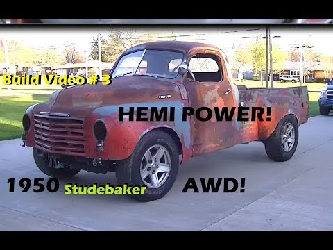 1950 Pickup Goes HEMI & AWD? YES! Nearing Completion!