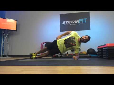 How to work hip abductor muscles with bodyweight