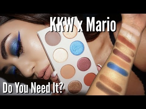 KKW x MARIO Palette Review, Tutorial & Swatches