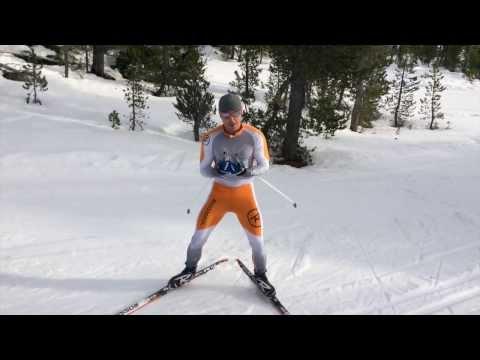 360 or Twirly Birds - Downhill Nordic Skiing Drills