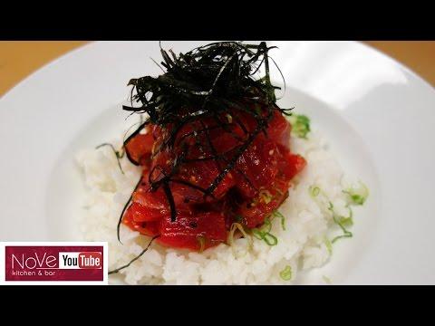 Spicy Tuna Donburi - How To Make Sushi Series