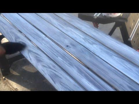 DIY Weathered Shiplap Plank Ceilings