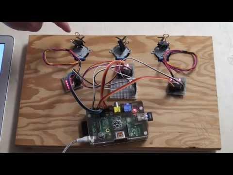 Raspberry Pi:  Stepper motors and first steps towards a CNC machine or 3d printer